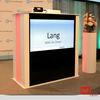 TVT Rednerpult mit Monitor 40