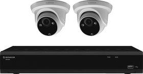 Video-Überwachungsset 2 Kameras, Netzwerkrecorder 1 / 1
